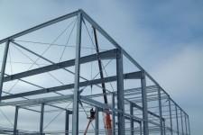 Montage Tragkonstruktion verzinkter Stahl