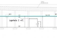 Planung Kühlraum in einer vorhandenen Halle