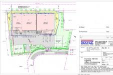 Bauantrag Logistikzentrum-Lageplan