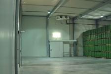 Manipulationsfläche im Saft-Tanklager
