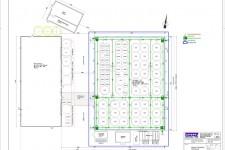 Grundrisszeichnung aus Bauantrag