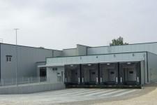 2. Bauetappe- Ansicht mit Brandwand