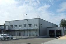 1. Bauetappe- Lager mit Büro und Verladezone