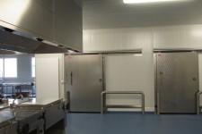 Teilansichten Kühlräume und Kochbereich
