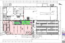 Grundrissplan aus einem Bauantrag