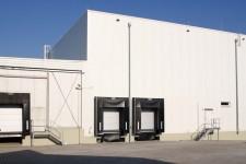 Tiefkühlhaus mit Andockstationen