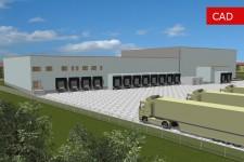 Bauantragsverfahren für ein Logistikzentrum-Ansicht 1