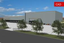 Bauantragsverfahren für ein Logistikzentrum-Ansicht 2